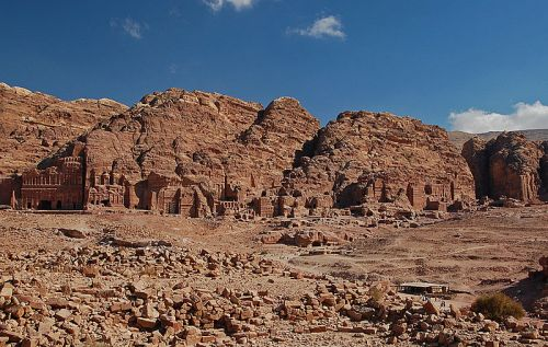 General view of Petra
