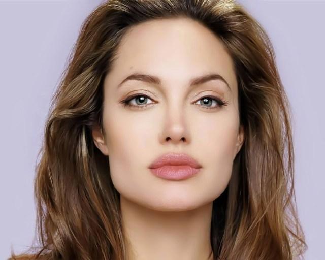 Angelina Jolie most beautiful eyes female celebrities