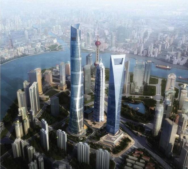 Shanghai Tower of Shanghai – China