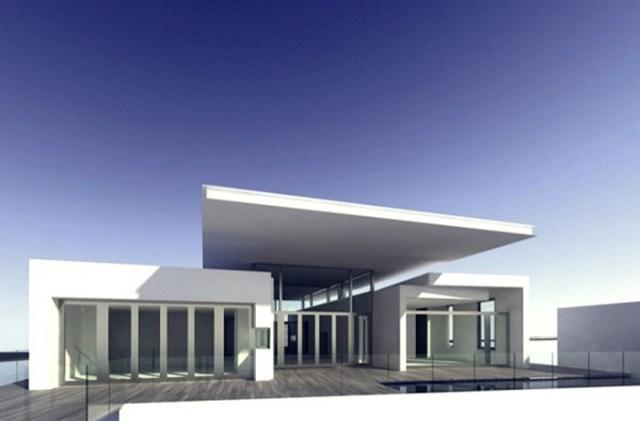 White Exterior Design