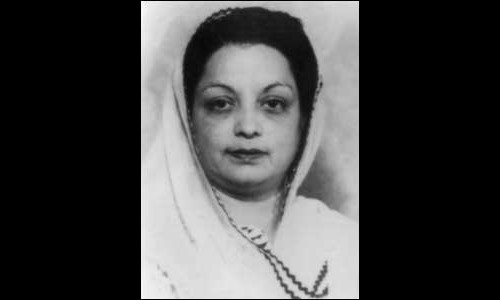 Begum Mahmooda Salim Khan