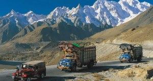 Karakoram Highway, between China and Pakistan