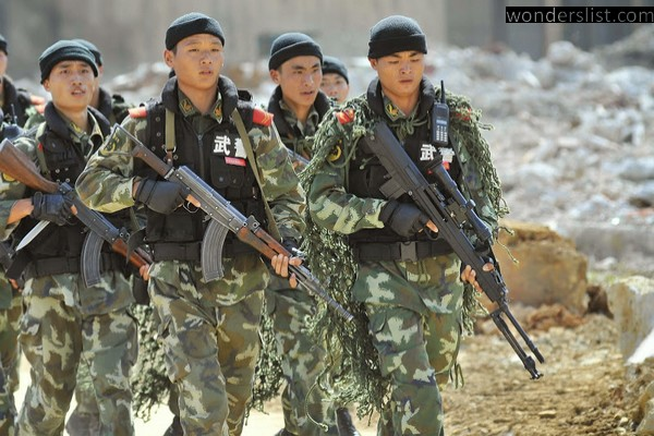 powerful militaries in the world