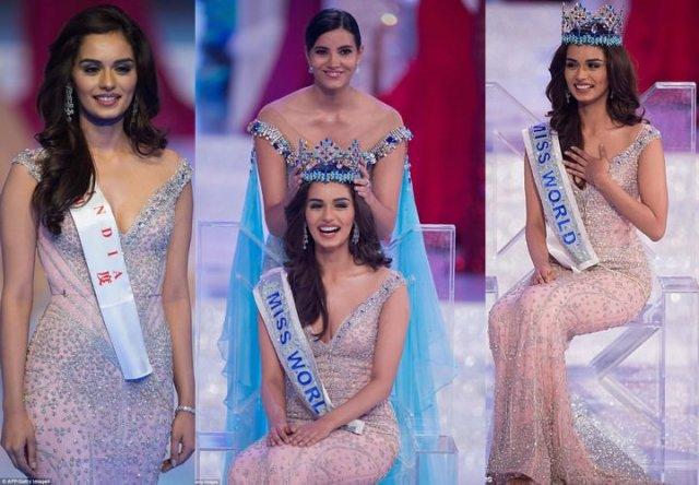 India's Manushi Chhillar Wins Miss World 2017