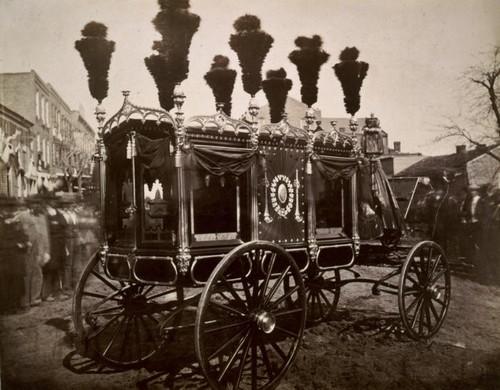 Lincoln's hearse