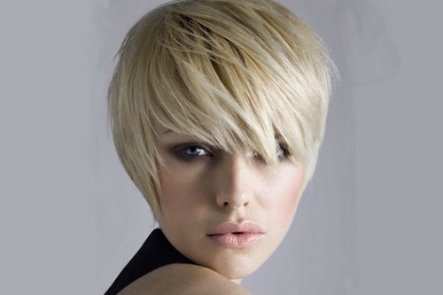 short cropped Winter Hairstyles