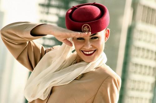Sexy Emirates Air Hostess