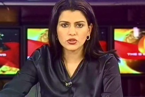 Glamorous News Anchors in India