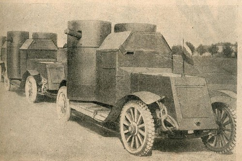 Austin armored cars