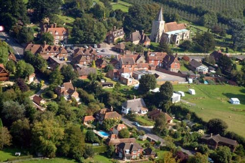 haunted village in England