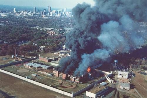 Atlanta violent prison riots