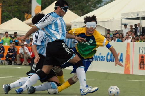Blind Soccer Bizarre Sports