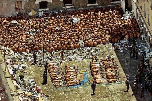 Massacre violent prison riots