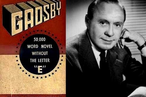Gadsby-Ernest Vincent Wright