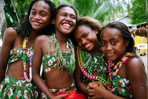 Polynesian community of Takuu