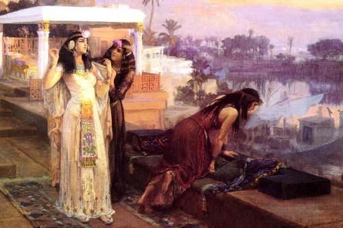 Queen Cleopatra at Philae