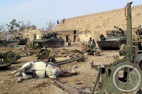 violent prison riots At Qala-I-Jangi