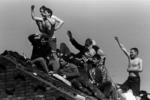Strangeways violent prison riots