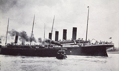 The bad luck on the Titanic