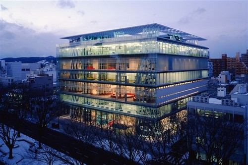 art Libraries buildings, Japan