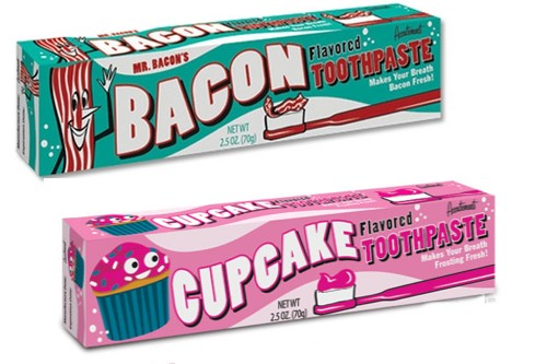 Most Bizarre Toothpastes