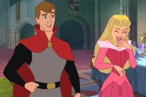 Disney Couples Princess Aurora and Prince Philip