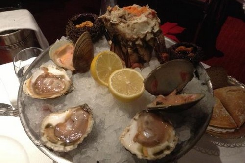 Sea Urchins and Oysters