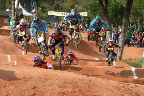 BMX racing action photo