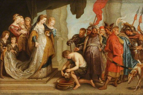 Queen Tomyris and the Head of Cyrus