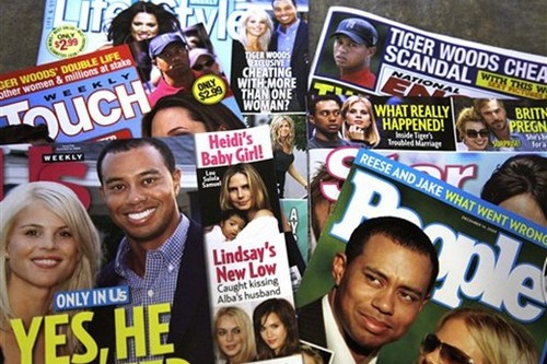 Tiger Woods Scandal Pictures