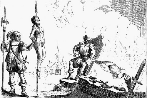 Impalement Of Waldenses by Granger