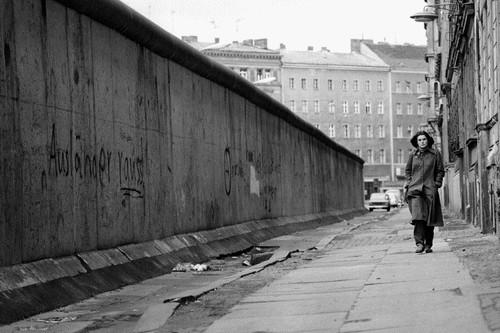 The Berlin Wall, 1962