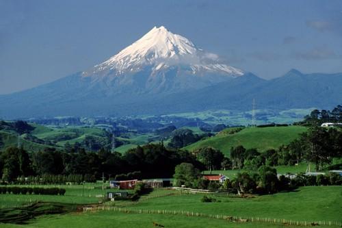 Mount Taranaki, New Zealand