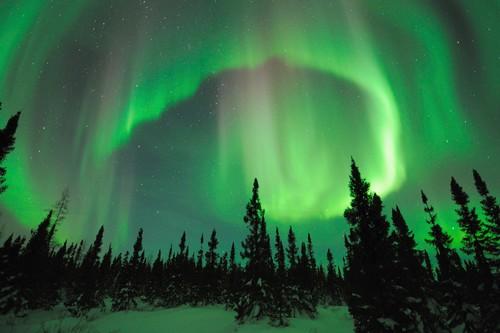Fairbanks, Alaska Night Sky