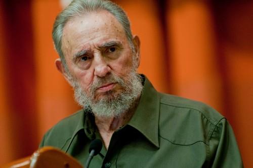 Former president Fidel Castro