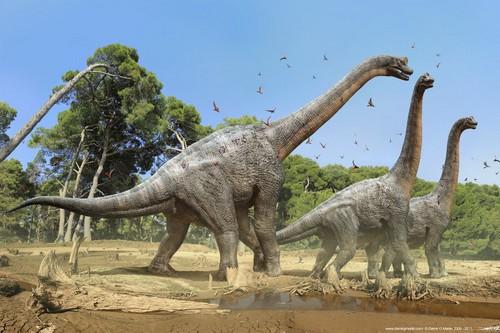 Weird Prehistoric Creatures Brachiosaurus