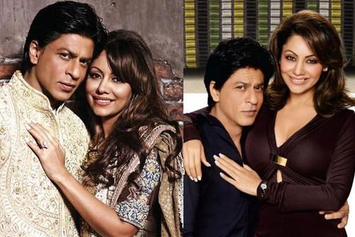 SRK and Gauri Chhibba