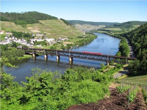 Rhine Valley Line from Mainz to Koblenz