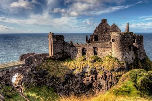 Haunted Castles in Ireland Dunluce Castle