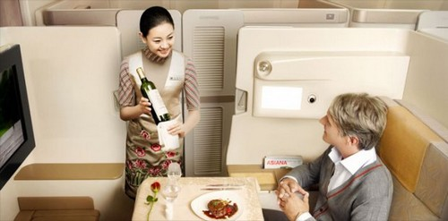 ANA Luxurious Airline Cabins