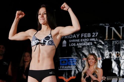 Female Mixed Martial Artists Alexa Grasso