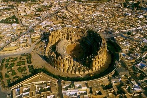 Amphitheater of El Djem Roman Theatres