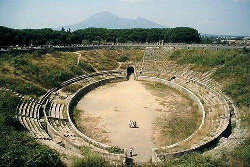 Amphitheatre of Pompeii Roman Theatres