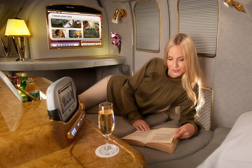 Emirates Luxurious Airline Cabins