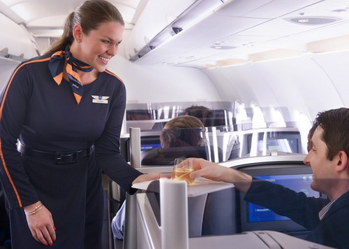 Jet Blue Luxurious Airline Cabins