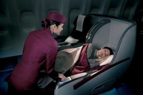 Qatar Airways Luxurious Airline Cabins