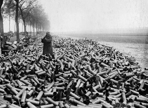 A Soldier On A Mountain Of Shells