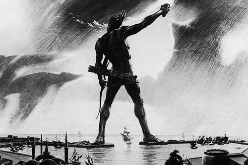 Colossus of Rhodes, Rhodes