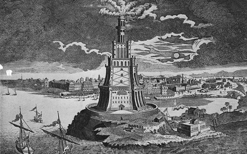 Lighthouse of Alexandria, Egypt