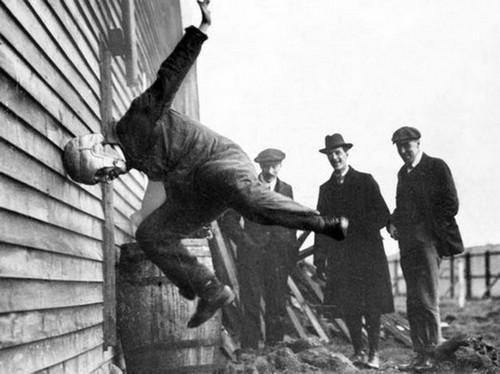 Testing a helmet for American Football